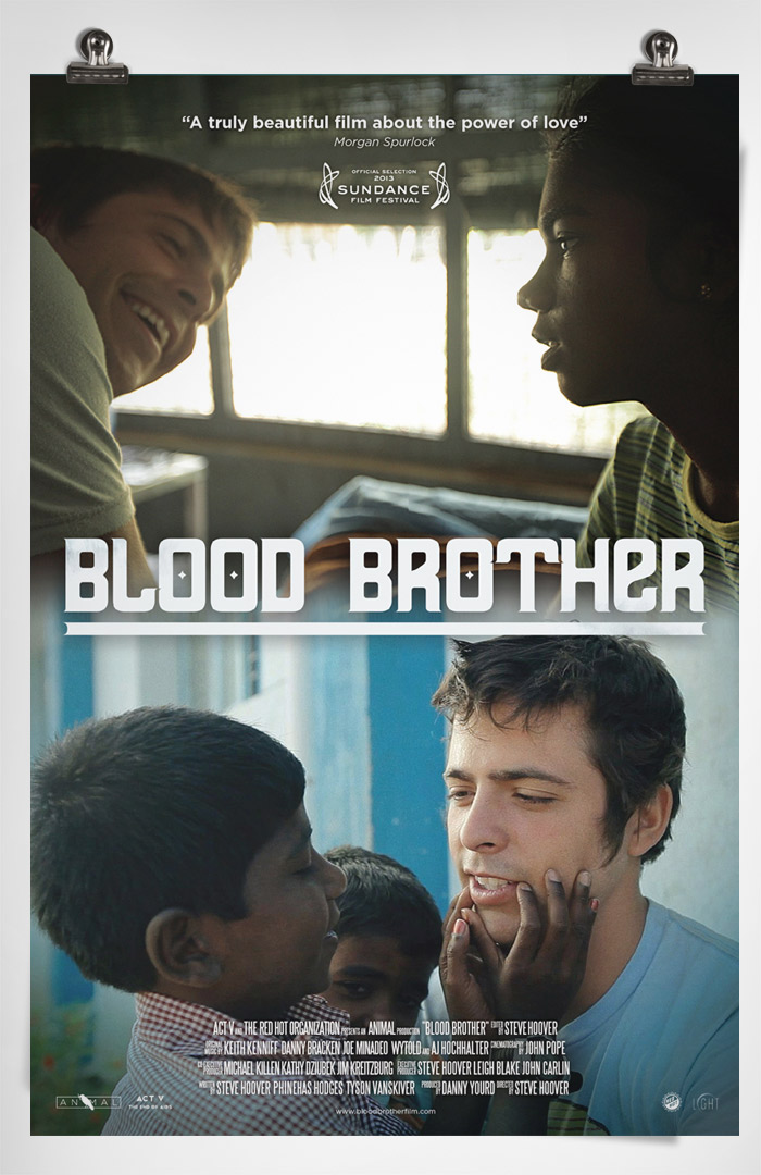 An analysis of the story blood brother directed by steve hoover