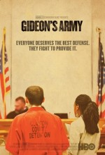 Gideon's Army film poster II