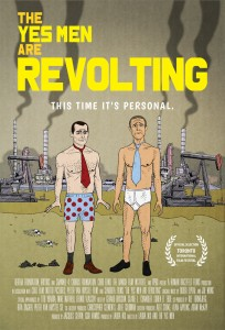 yes men are revolting poster