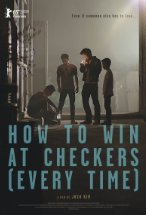 Win at checkers poster