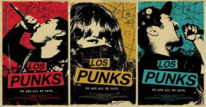 Los Punks poster III